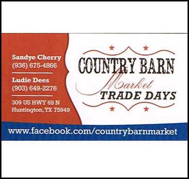 Country Barn Market Trade Days